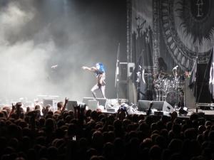 Alissa White-Gluz, Arch Enemy - Schleyerhalle, Stuttgart 2015
