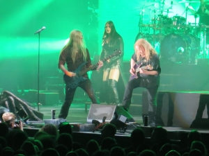 Marco Hietala, Floor Jansen, Emppu Vuorinen, Nightwish - Schleyerhalle, Stuttgart 2015