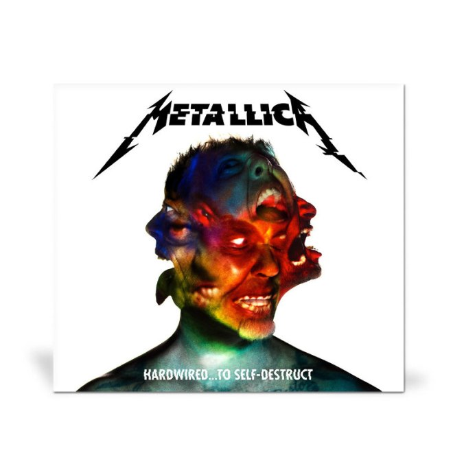 """Cover des neuen Metallica Albums """"Hardwired…To Self-Destruct"""""""